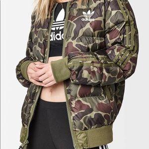adidas Jackets & Coats - ADIDAS SPECIAL EDITION Camo Bomber Jacket